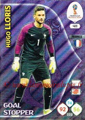 2018 - Panini FIFA World Cup Russia Adrenalyn XL - N° 411 - Hugo LLORIS (France) (Goal Stopper)