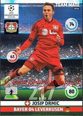 2014-15 - Adrenalyn XL champions League Update edition N° UE036 - Josip DRMIC (Bayer Leverkusen)