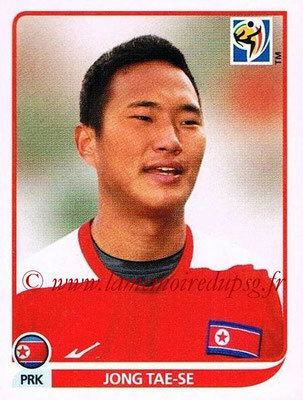 2010 - Panini FIFA World Cup South Africa Stickers - N° 522 - Jong TAE-SE (Corée du Nord)