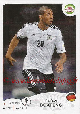 2014 - Panini Road to FIFA World Cup Brazil Stickers - N° 042 - Jerôme BOATENG (Allemagne)