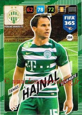 2017-18 - Panini FIFA 365 Cards - N° 204 - Tamas HAJNAL (Ferencvaros TC)