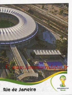2014 - Panini FIFA World Cup Brazil Stickers - N° 027 - Estadio do Maracana - Rio de Janeiro (2)