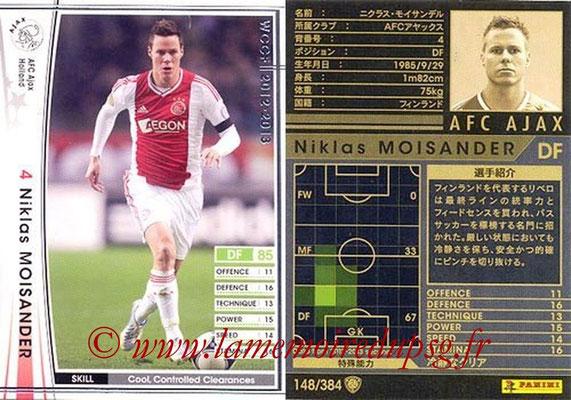2012-13 - WCCF - N° 148 - Niklas MOISANDER (AFC Ajax)