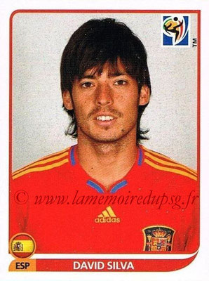 2010 - Panini FIFA World Cup South Africa Stickers - N° 578 - David SILVA (Espagne)