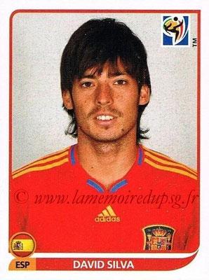2010 - Panini FIFA World Cup South Africa Stickers - N° 578 - David SILVA (Espagne)