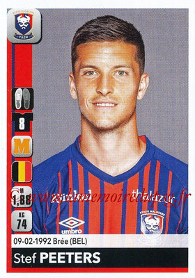 2018-19 - Panini Ligue 1 Stickers - N° 089 - Stef PEETERS (Caen)