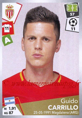 2017-18 - Panini Ligue 1 Stickers - N° 276 - Guido CARRILLO (Monaco)