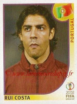2002 - Panini FIFA World Cup Stickers - N° 305 - Rui COSTA (Portugal)
