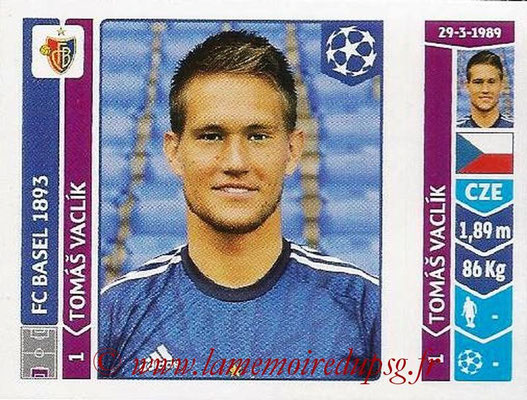 2014-15 - Panini Champions League N° 127 - Tomas VACLIK (FC Bâle)