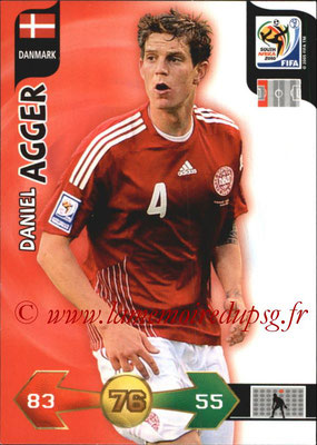 2010 - Panini FIFA World Cup South Africa Adrenalyn XL - N° 078 - Daniel AGGER (Danemark)