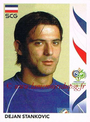 2006 - Panini FIFA World Cup Germany Stickers - N° 220 - Dejan STANKOVIC (Serbie)