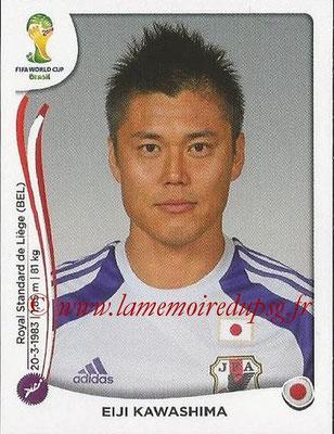 2014 - Panini FIFA World Cup Brazil Stickers - N° 243 - Eiji KAWASHIMA (Japon)