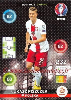 Panini Euro 2016 Cards - N° 248 - Lukasz PISZCZEK (Pologne) (Dynamo)