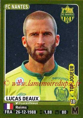 2015-16 - Panini Ligue 1 Stickers - N° 295 - Lucas DEAUX (FC Nantes) (Top joueur)