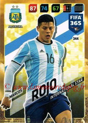 2017-18 - Panini FIFA 365 Cards - N° 344 - Marcos ROJO (Argentine) (International Star)