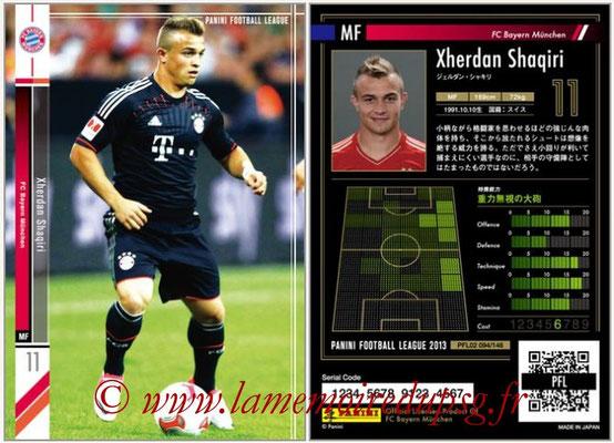 Panini Football League 2013 - PFL02 - N° 094 - Xherdan Shaqiri ( FC Bayern Munchen )