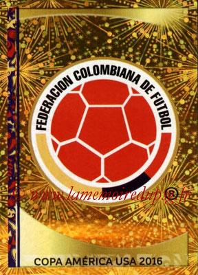 Panini Copa America Centenario USA 2016 Stickers - N° 038 - Logo Colombie