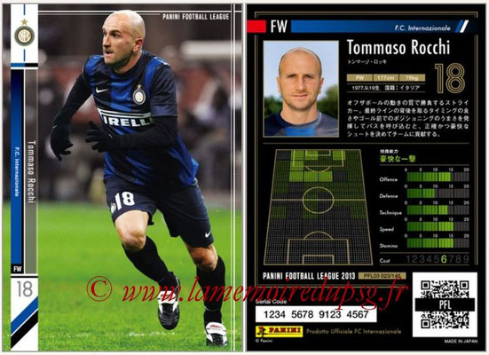 Panini Football League 2013 - PFL03 - N° 023 - Tommaso Rocchi (Inter Milan)