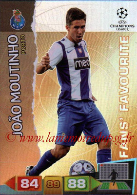 2011-12 - Panini Champions League Cards - N° 319 - Joao MOUTINHO (FC Porto) (Fans' Favourite)