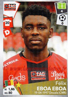 2017-18 - Panini Ligue 1 Stickers - N° 132 - Félix EBOA EBOA (Guingamp)
