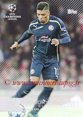 2015-16 - Topps UEFA Champions League Showcase Soccer - N° 155 - Junior FERNANDES (GNK Dinamo Zagreb)