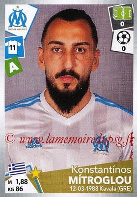 2017-18 - Panini Ligue 1 Stickers - N° 223 - Konstantinos MITROGLOU (Marseille)