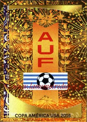 Panini Copa America Centenario USA 2016 Stickers - N° 230 - Logo Uruguay