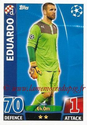 2015-16 - Topps UEFA Champions League Match Attax - N° 415 - EDUARDO (GNK Dinamo Zagreb)