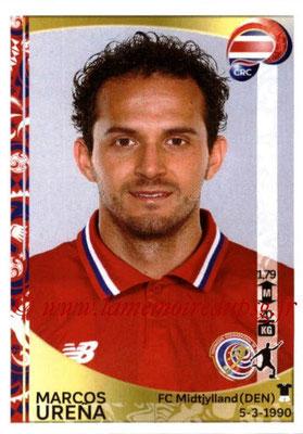 Panini Copa America Centenario USA 2016 Stickers - N° 082 - Marcos URENA (Costa Rica)