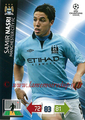 2012-13 - Adrenalyn XL champions League N° 130 - Samir NASRI (Manchester City FC)