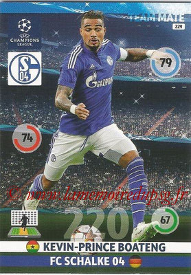 2014-15 - Adrenalyn XL champions League N° 229 - Kevin-Prince BOATENG ( FC Schalke 04)