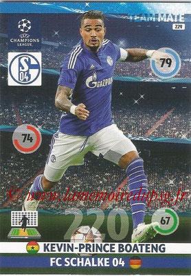 2014-15 - Adrenalyn XL champions League N° 229 - Kevin-Prince BOATENG ( FC Schalke 04)