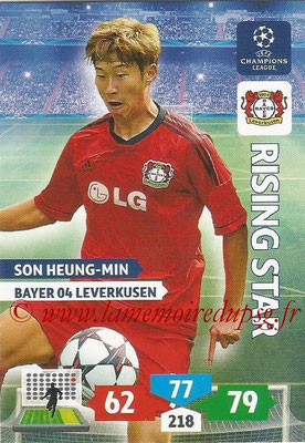 2013-14 - Adrenalyn XL champions League N° 080 - Son HEUNG-MIN (Bayer 04 Leverkusen) (Rising Star)