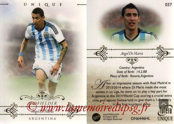 N° 037 - Angel DI MARIA (2015, Argentine > 2015-??, PSG) (Midfielder)