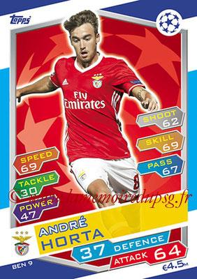 2016-17 - Topps UEFA Champions League Match Attax - N° BEN9 - Andre HORTA (SL Benfica)