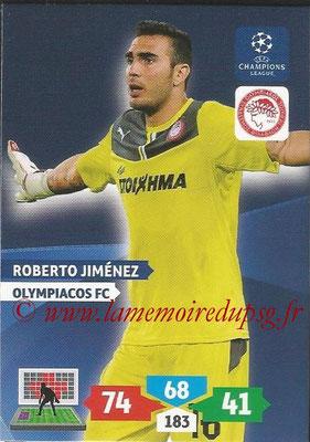 2013-14 - Adrenalyn XL champions League N° 199 - Roberto JIMENEZ (Olympiacos FC)