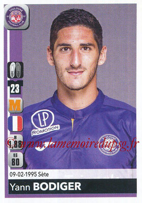 2018-19 - Panini Ligue 1 Stickers - N° 486 - Yann BODIGER (Toulouse)