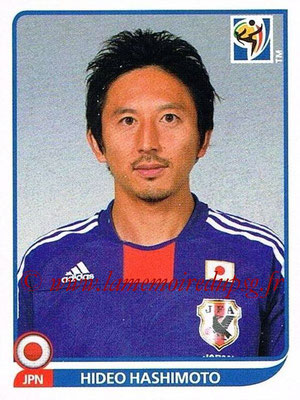 2010 - Panini FIFA World Cup South Africa Stickers - N° 382 - Hideo HASHIMOTO (Japon)