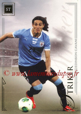 2014 - Futera World Football Unique - N° 068 - Edinson CAVANI (Striker)