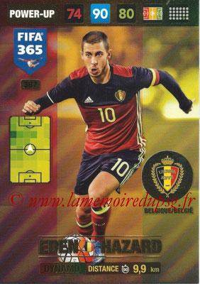 2016-17 - Panini Adrenalyn XL FIFA 365 - N° 387 - Eden HAZARD (Belgique) (Dynamo)