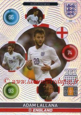 Panini England 2016 Adrenalyn XL - N° 112