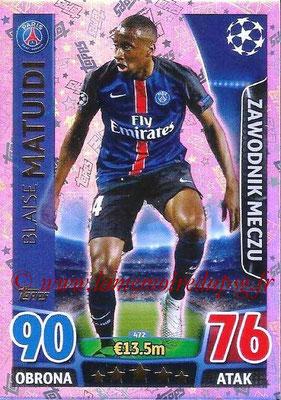 N° 472 - Blaise MATUIDI (Man of the match)