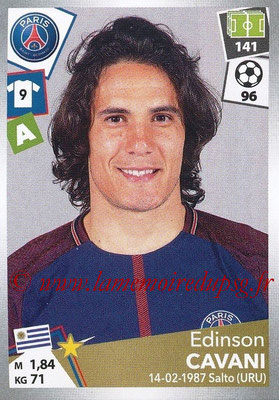 2017-18 - Panini Ligue 1 Stickers - N° 382 - Edinson CAVANI (Paris Saint-Germain)