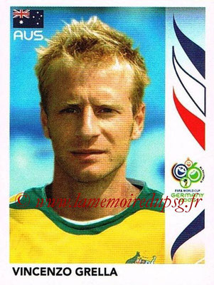 2006 - Panini FIFA World Cup Germany Stickers - N° 426 - Vincenzo GRELLA (Australie)