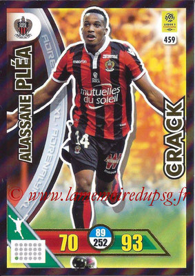 2017-18 - Panini Adrenalyn XL Ligue 1 - N° 459 - Alassane PLEA (Nice) (Crack)