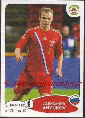 2014 - Panini Road to FIFA World Cup Brazil Stickers - N° 328 - Aleksandr ANYUKOV (Russie)