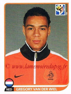 2010 - Panini FIFA World Cup South Africa Stickers - N° 341 - Gregory VAN DER WIEL (Pays Bas)