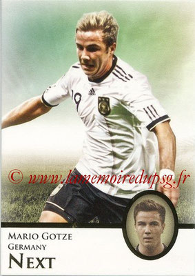 2013 - Futera World Football Unique - N° 093 - Mario GOTZE (Allemagne) (Next)