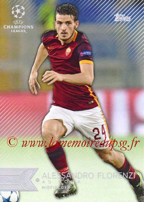 2015-16 - Topps UEFA Champions League Showcase Soccer - N° 121 - Alessandro FLORENZI (AS Roma)