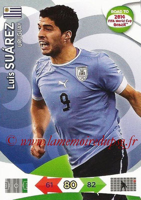 2014 - Panini Road to FIFA World Cup Brazil Adrenalyn XL - N° 190 - Luis SUAREZ (Uruguay)